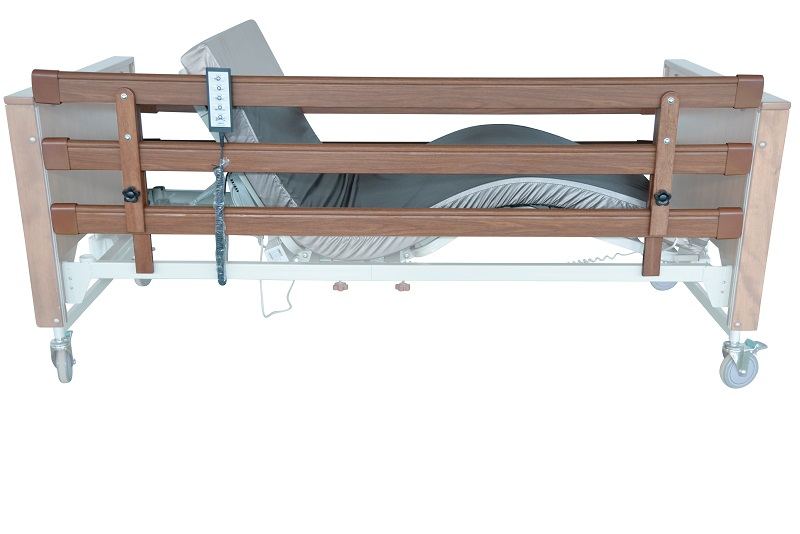 Extra High-Wooden Bed Rails