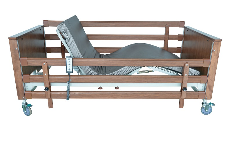 Profiling standard bed with integral side rails